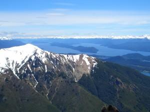 La impresionante región de los lagos en Bariloche.