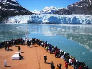Los cruceros permiten unos paisajes espectaculares.