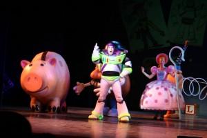 Disney Cruises ofreces espectáculos para niños.