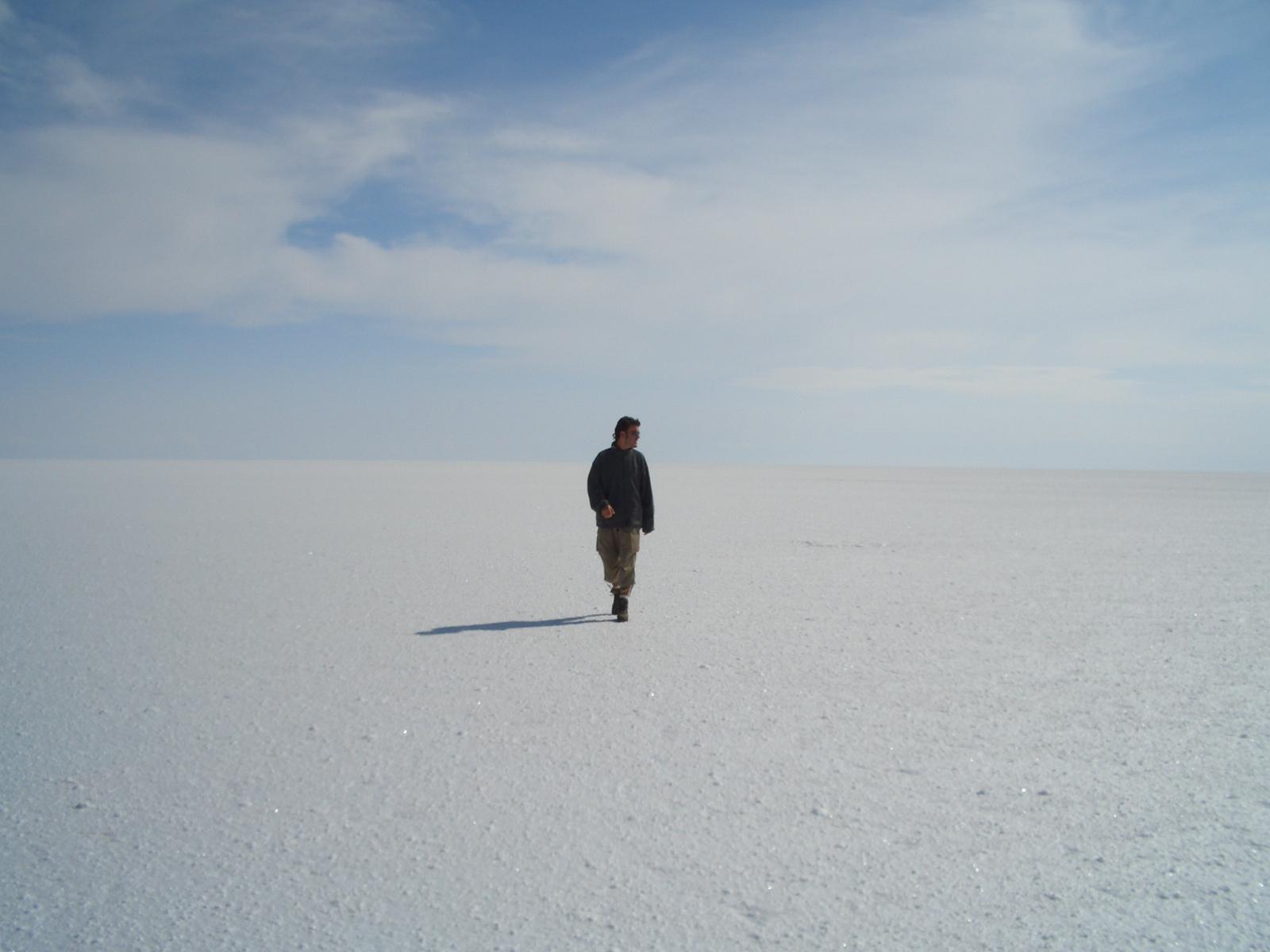 Cautivadores lugares como Uyuni.