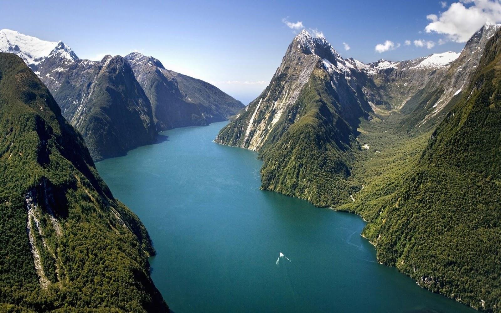 Milford Sound, Nueva Zelanda.