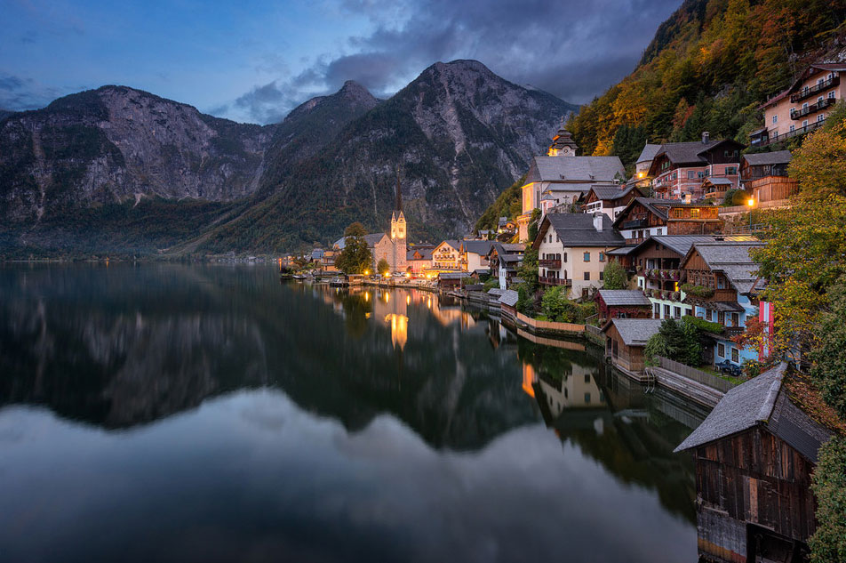 Pueblos pequeños de Austria
