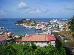 Numerosos cruceros llegan a Grenada.