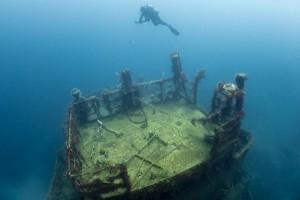 Wreck Diving en Grenada.