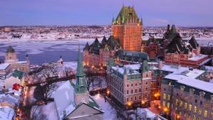 Chateau Frontenac en Quebec.