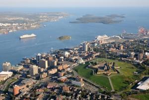 Halifax desde el aire.