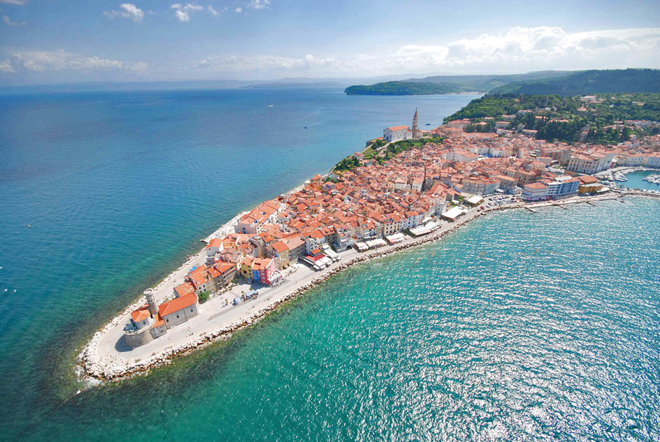 8.Piran Peninsula, Slovenia