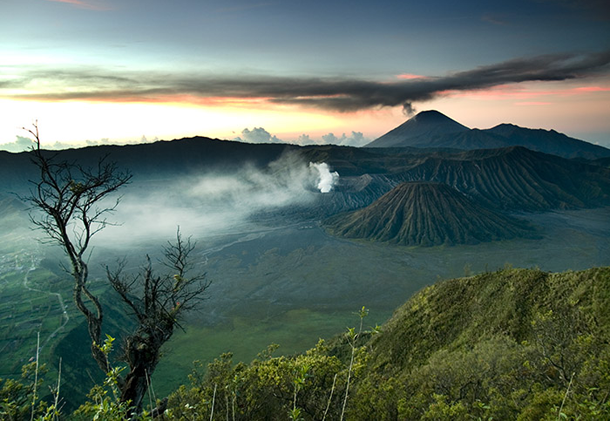 4.Mount Bromo, Indonesia