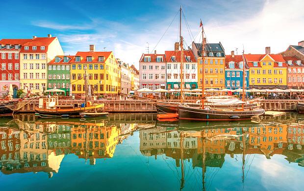 Dinamarca como destino de cruceros.