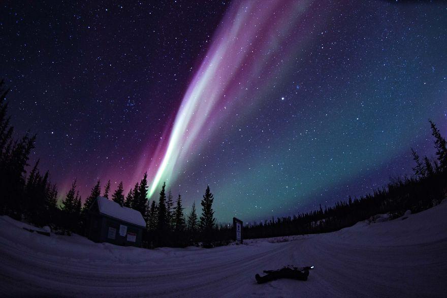 Aurora Boreal en Canadá.
