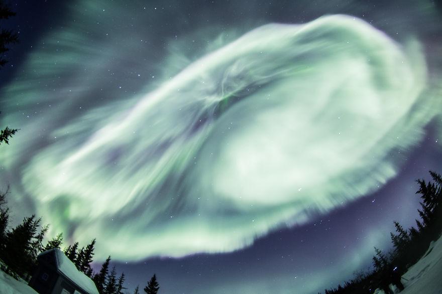 Impresionantes Auroras Boreales.