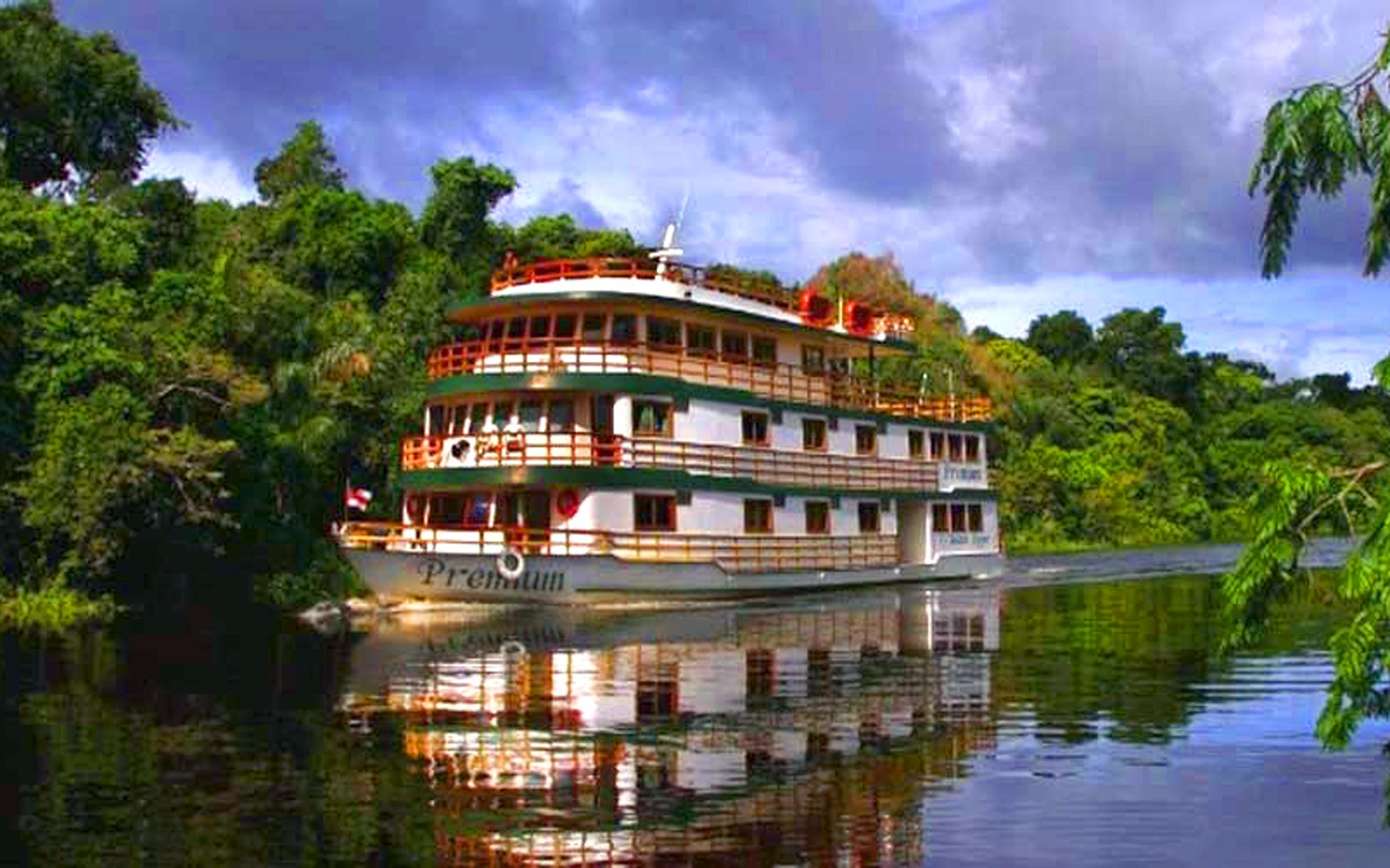 Crucero por el Amazonas, Sudamérica.