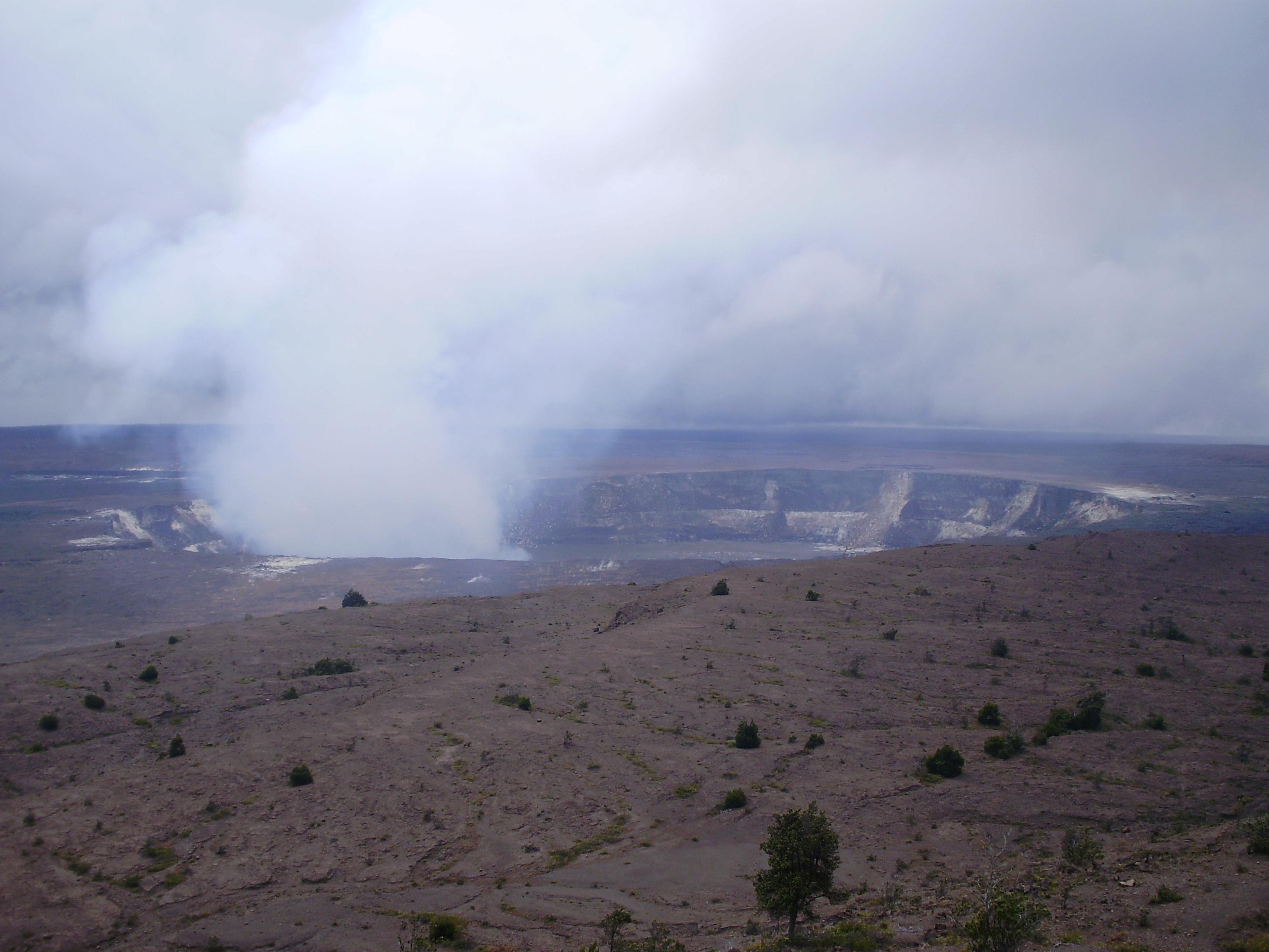 Kilauea crater, Hawai