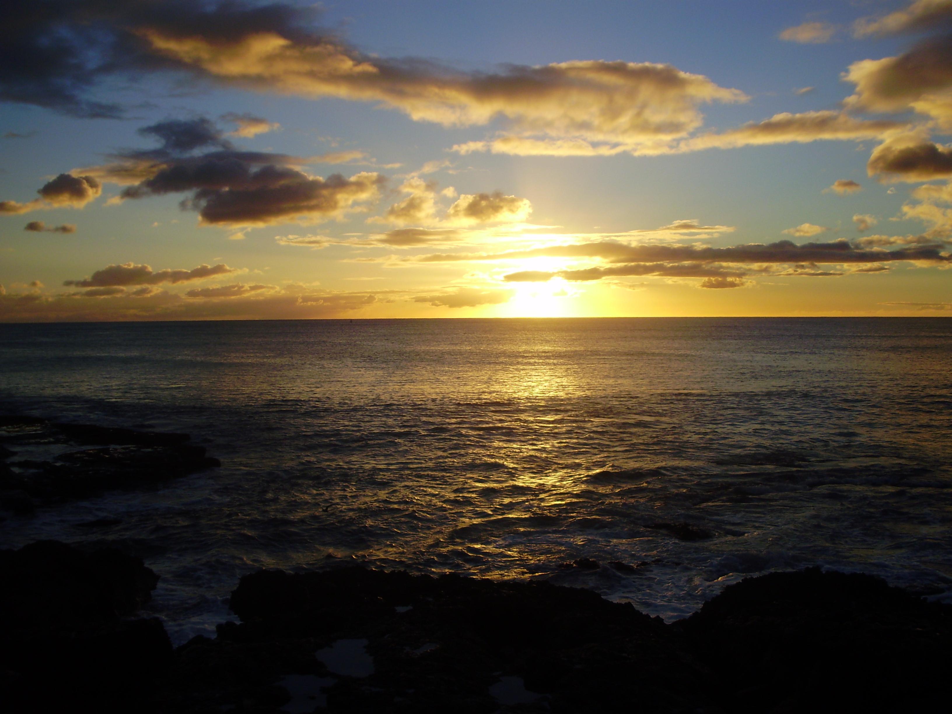Sunset en Hawai