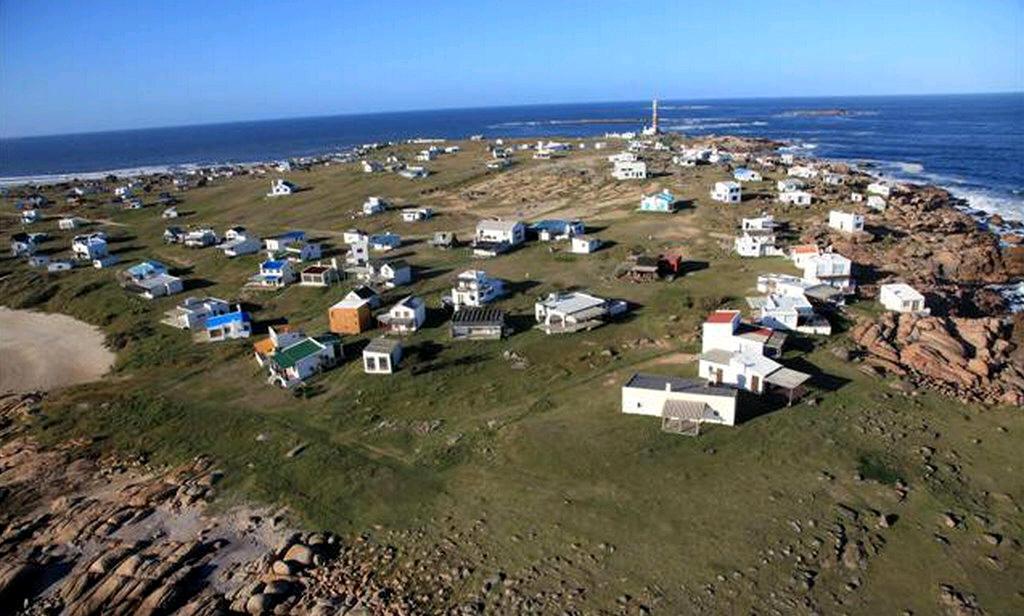 Vista aérea de Cabo Polonio