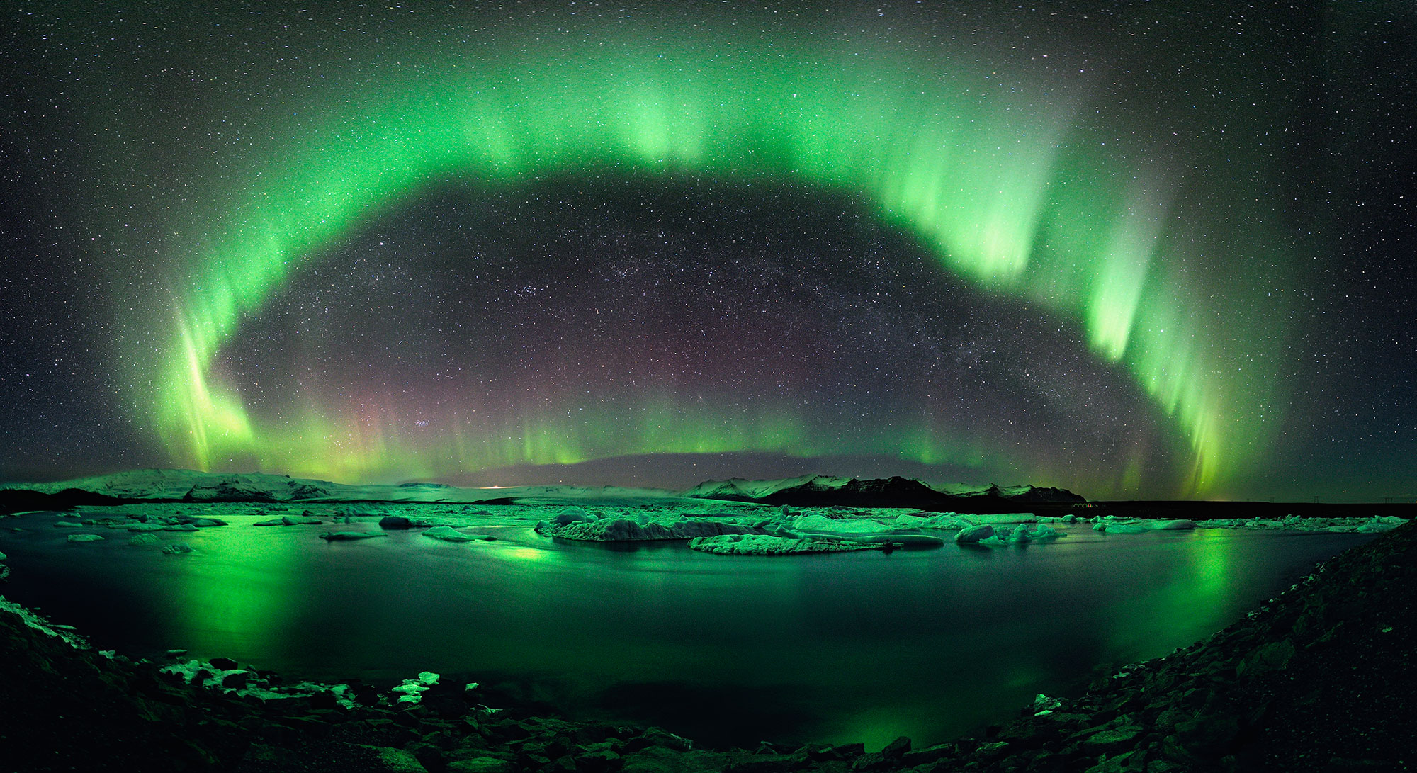 Espectacular fenómeno de la Aurora Boreal