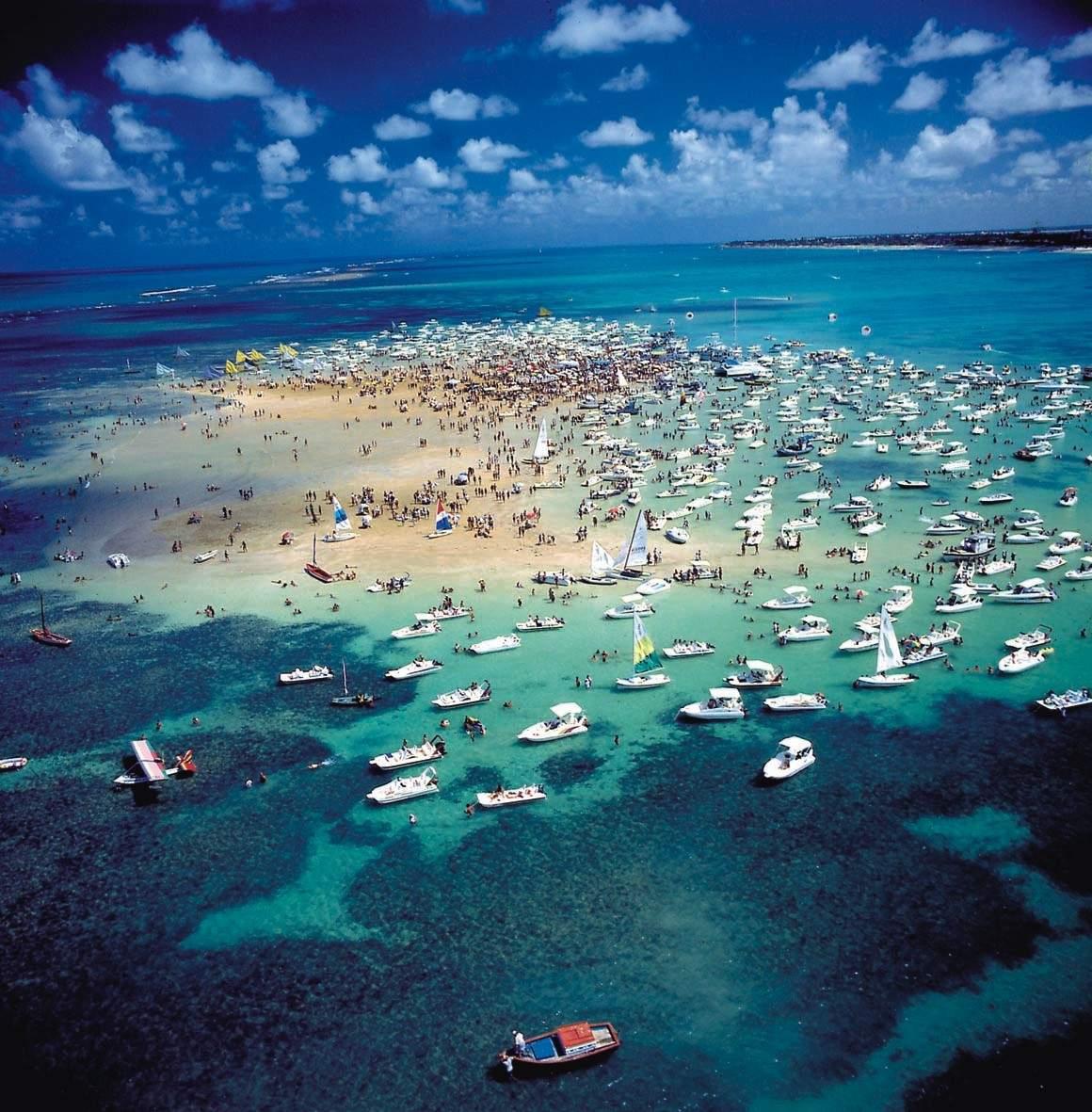 Isla brasileña de Areia Vermelha