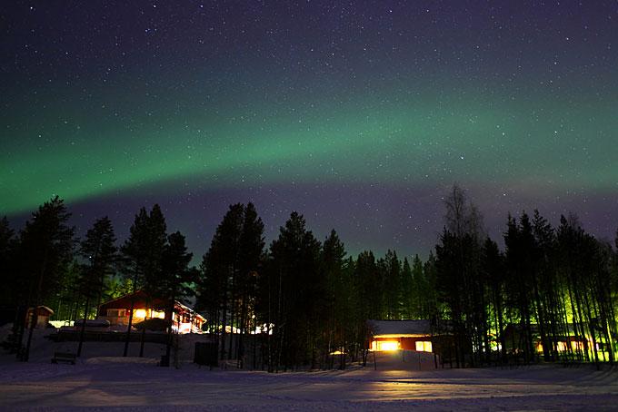 Ivalo, en Finlandia, para ver Auroras Boreales