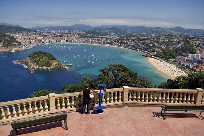 San Sebastián desde el Monte Igeldo