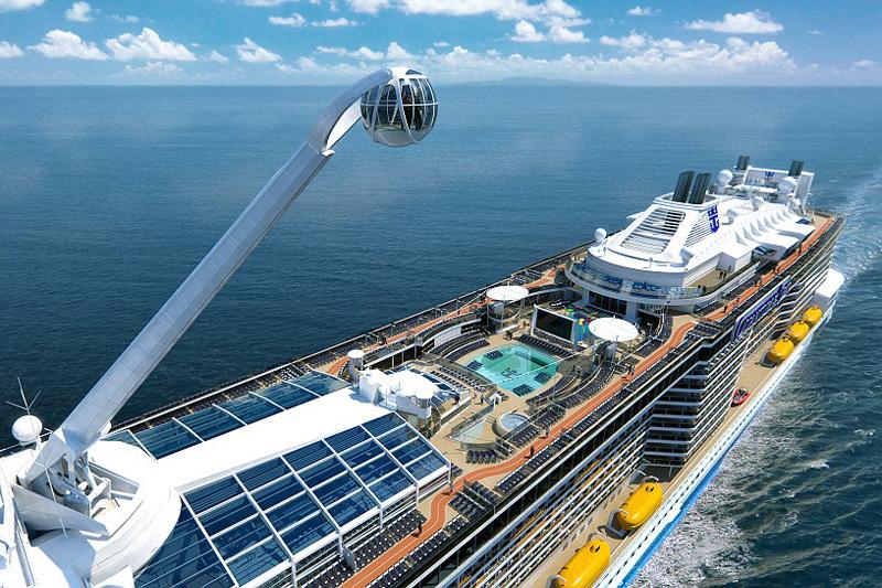 Ovation of the Seas entre los nuevos barcos de crucero