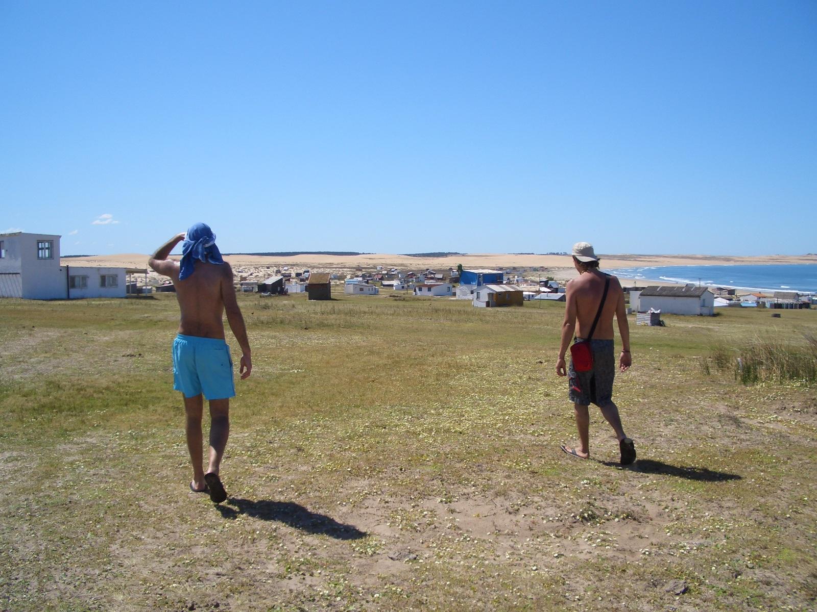 Llegando a Cabo Polonio