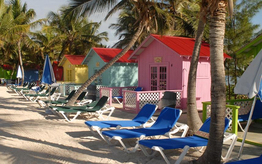 Princess Cays es otra de las islas privadas