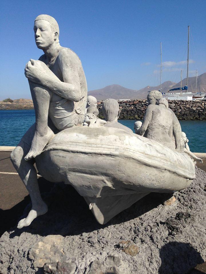 Lancha del Museo Submarino de Lanzarote