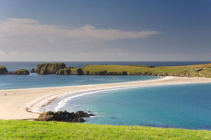 En Shetland, Reino Unido, es posible ver la Aurora Boreal
