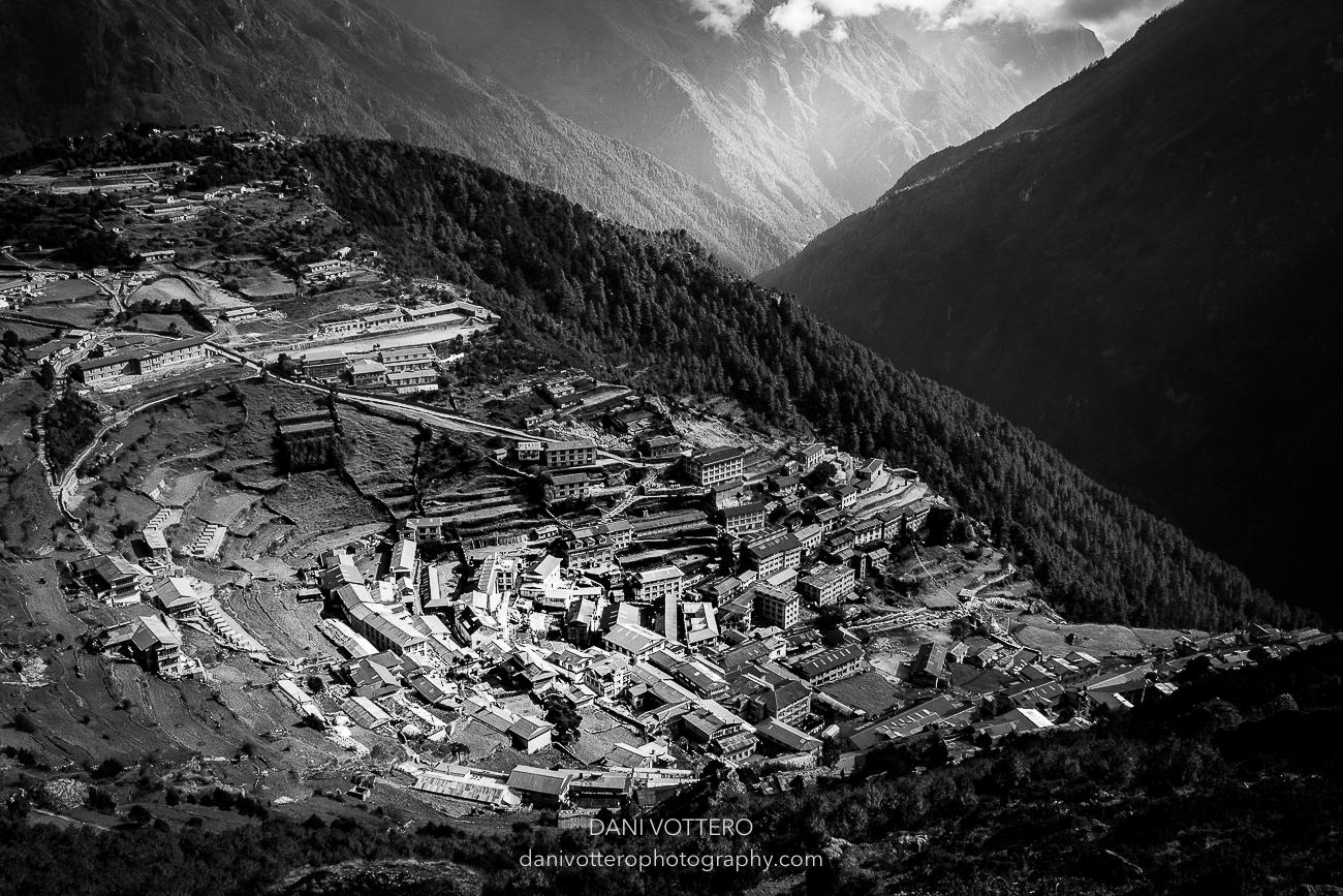 Namche en el Himalaya