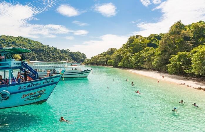 Islas de Tailandia como Koh Chang