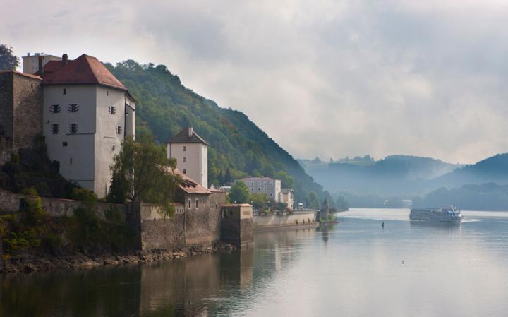 La belleza el Danubio.
