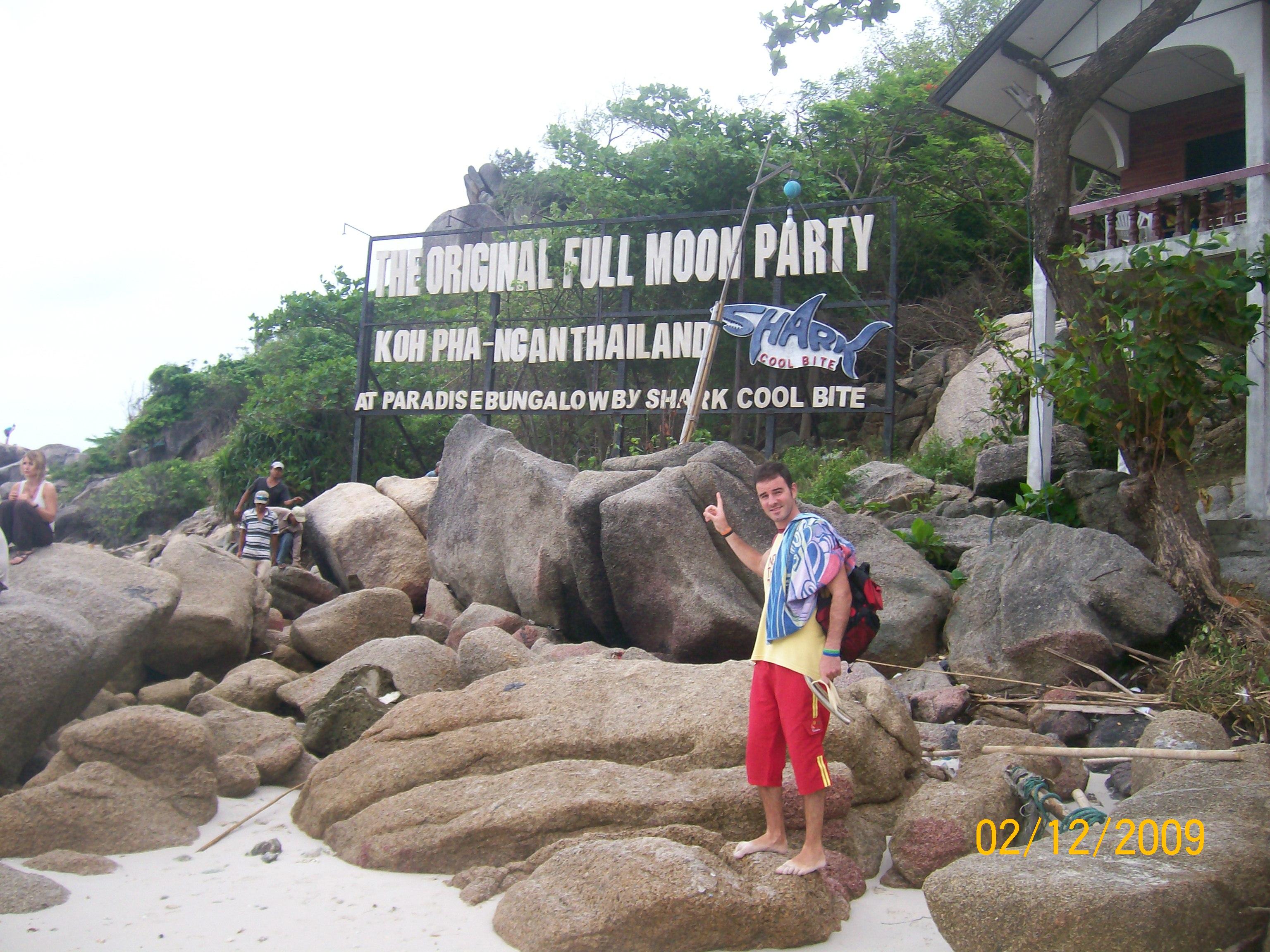 Islas de Tailandia como Koh Phangan