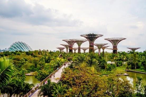 Diez viajes como Singapore