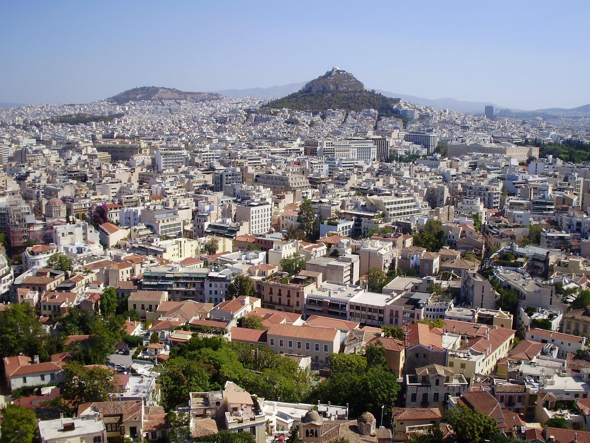 Atenas en la vuelta al Mediterráneo en crucero