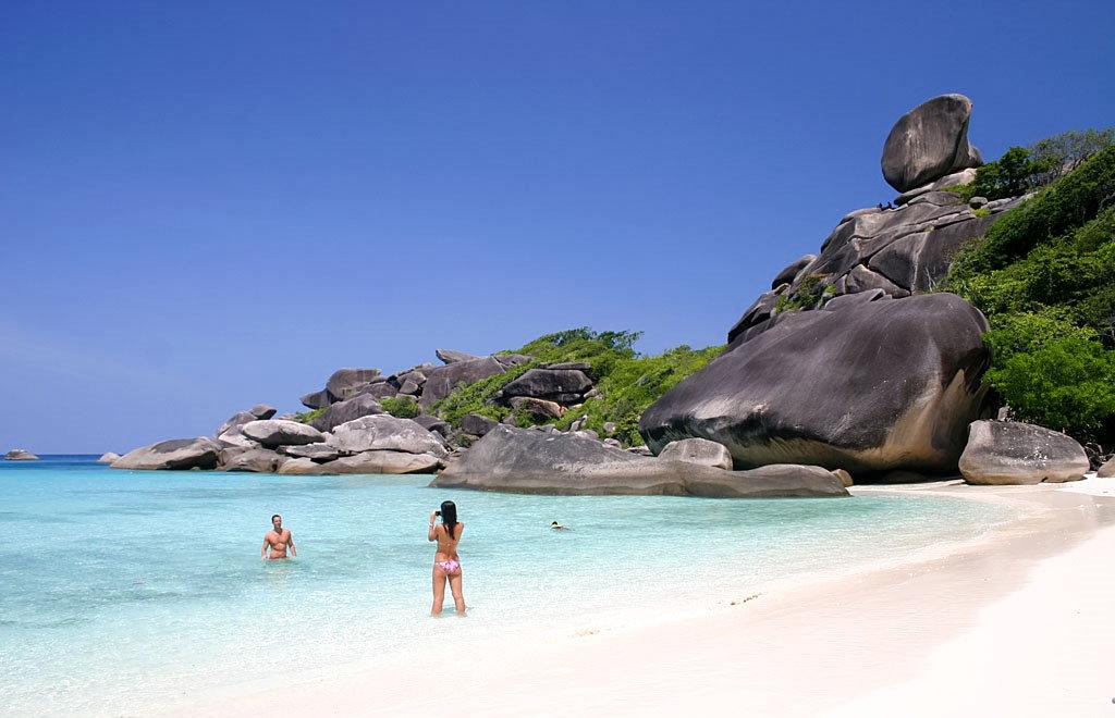 Islas de Tailandia como las Similan