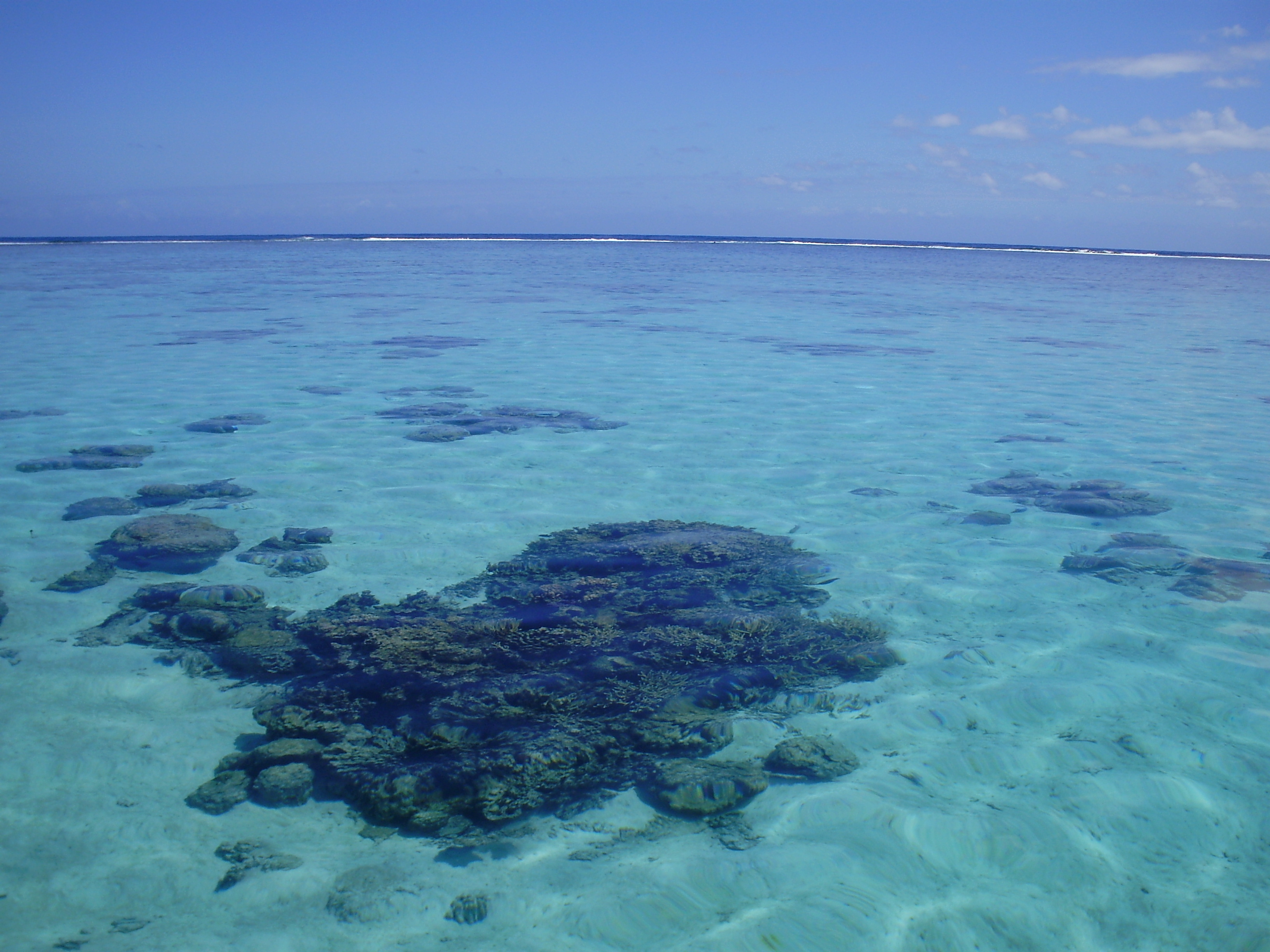 Aguas de la Polinesia francesa