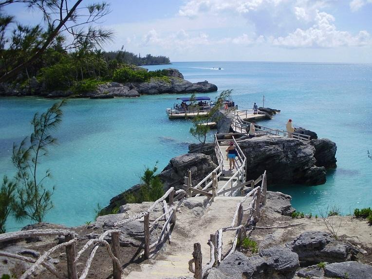 Playa de las islas Bermudas