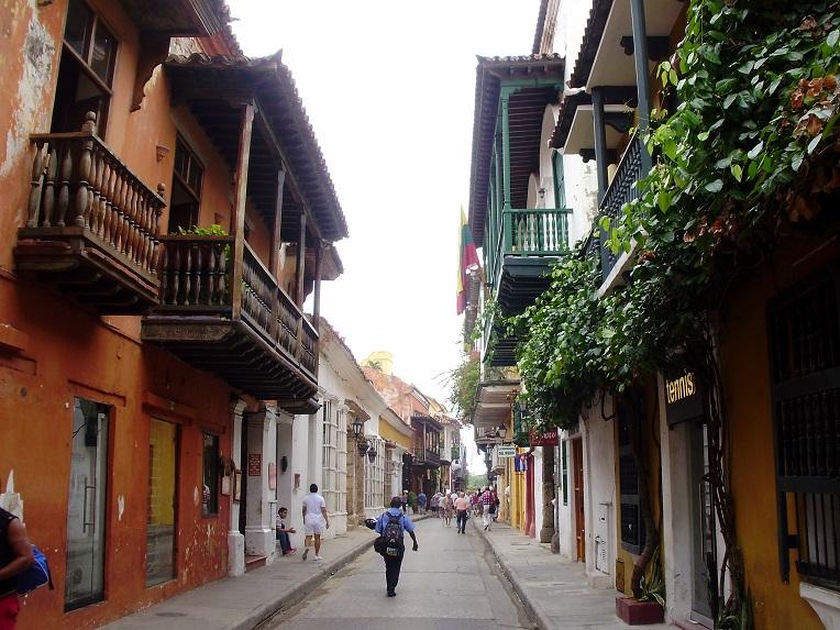 Cartagena de Indias en el crucero por el Canal de Panamá