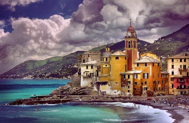 10. Camogli -Top 10 Italian Coastal Sites