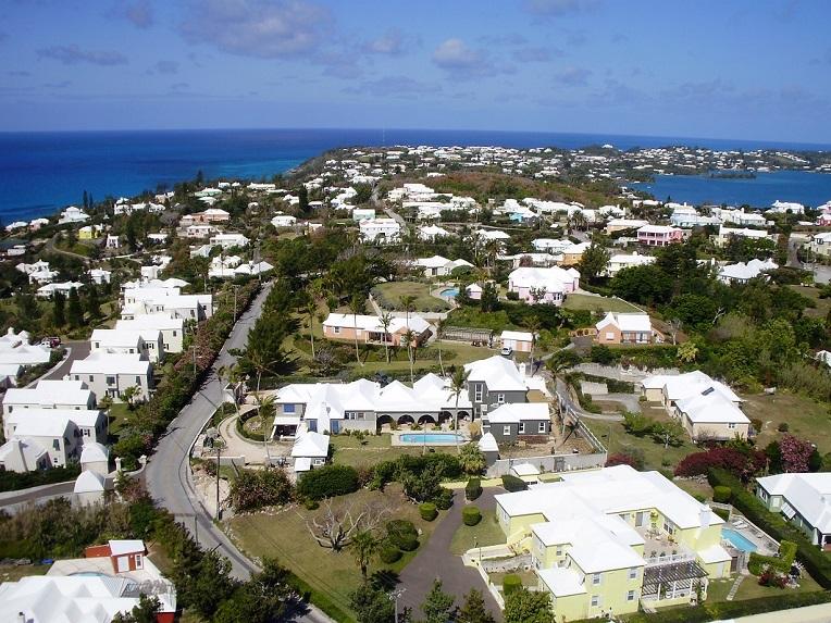 Panorámica de las islas Bermudas