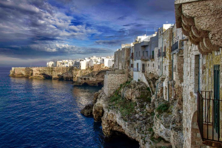 3. Polignano a Mare - Top 10 Italian Coastal Sites