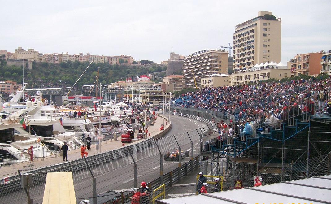 Palco VIP de la F1 de Monaco