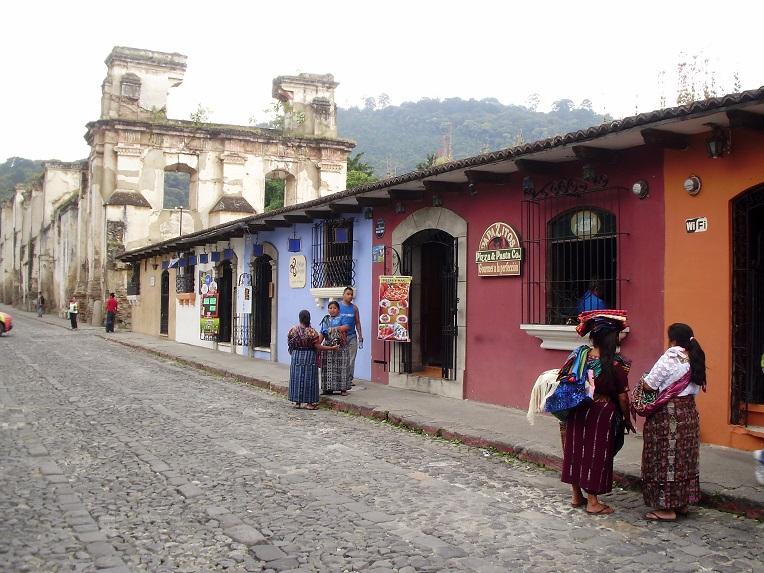La Antigua en el Canal de Panamá