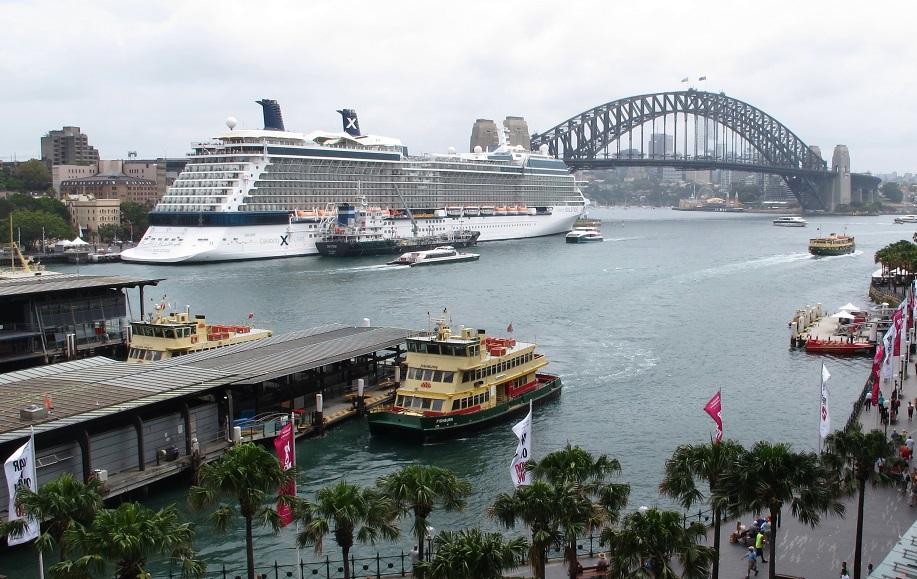 Crucero Solstice de Celebrity en Sydney