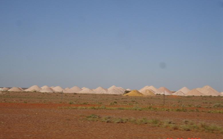 minas de Coober Pedy