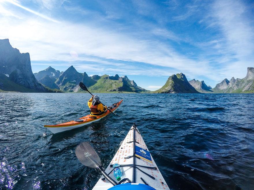 Resultado de imagen para kayak en noruega