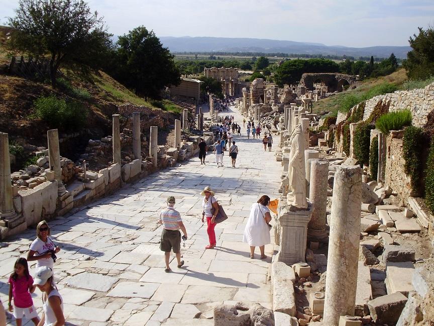 Entrada a Efeso