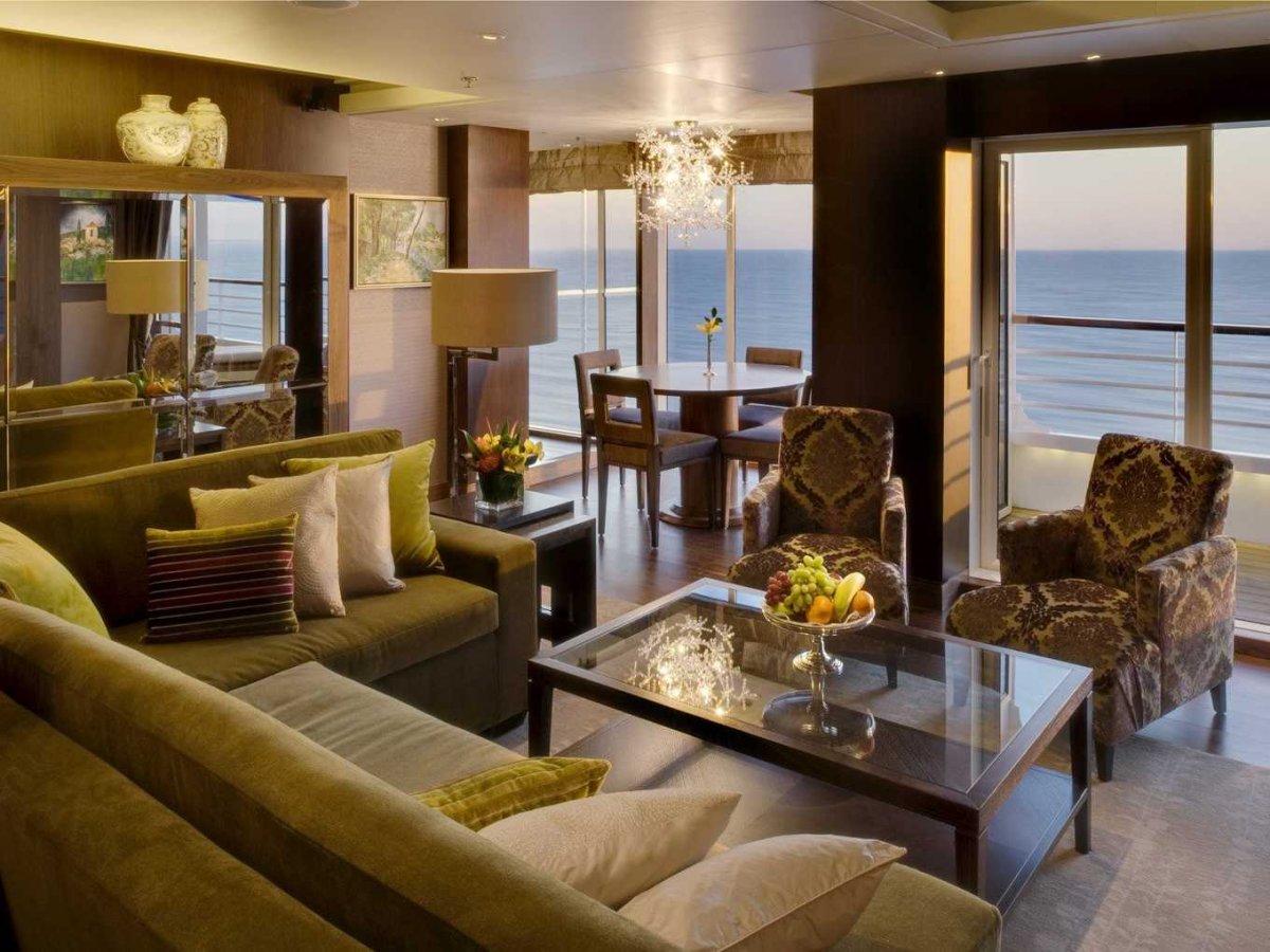 Cruceros de lujo como Crystal Cruises