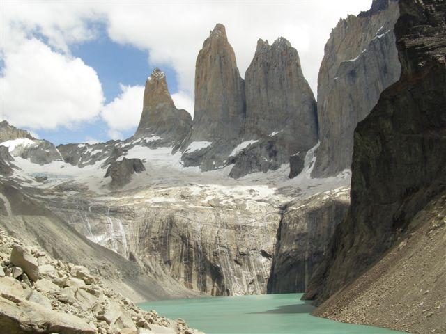 Torres del Paine en un crucero por Sudamérica