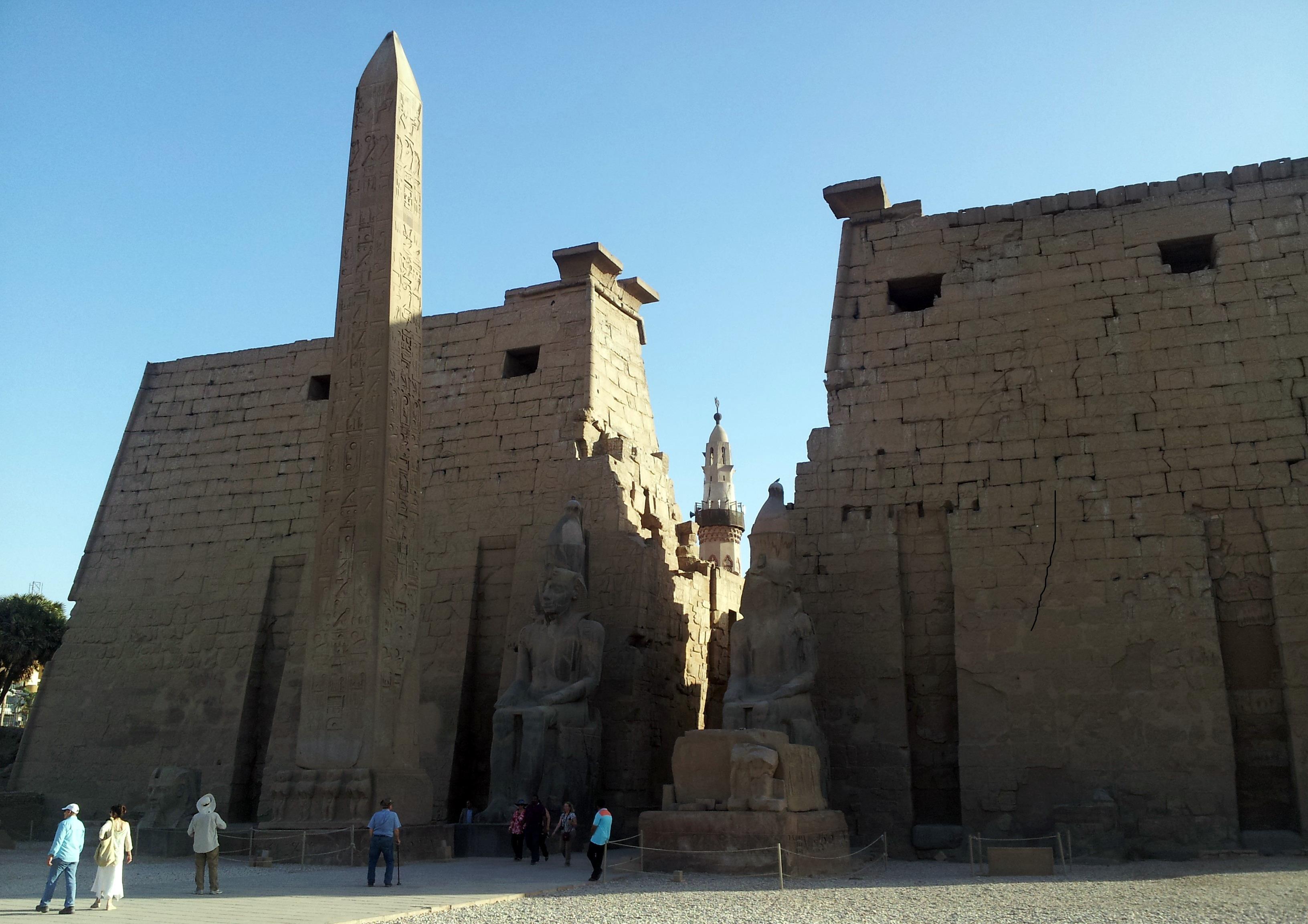 Luxor en un crucero por el Nilo